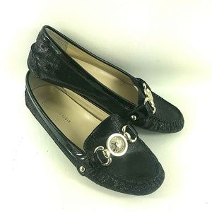 Anne Klein Womens Sz 6 Loafers with accent Buckle